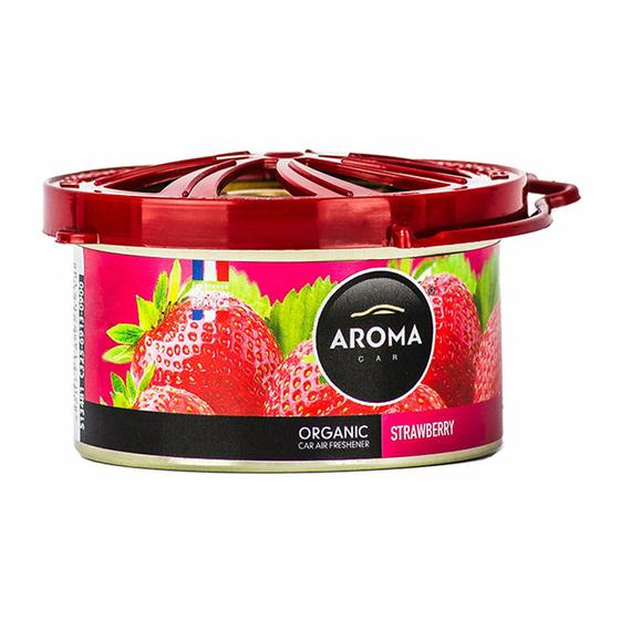 Sáp thơm ô tô Aroma Car Organic 40g - Strawberry