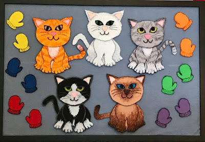 Five Little Kittens Flannel Board
