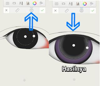 Tutorial membuat mata dan alis