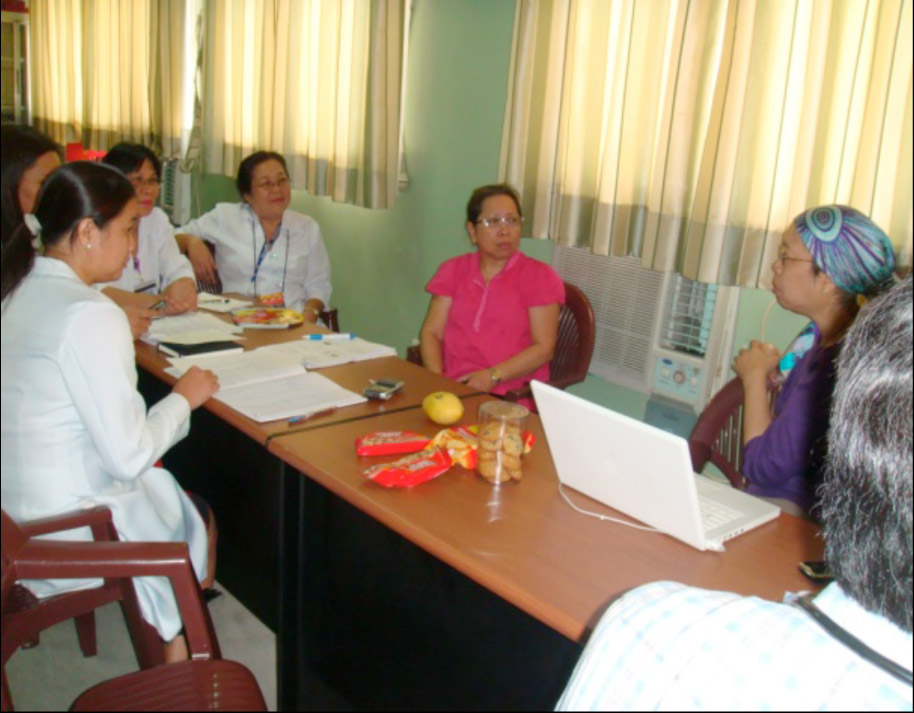 Einc Bulletin Quirino Memorial Medical Center Experience Accepting The Challenge Of Change By Donna Miranda