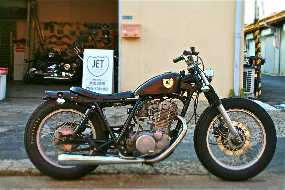 SR400 Custom Bratstyle by Jet Custom