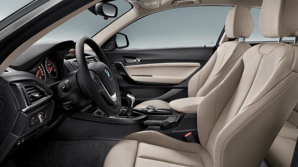 Dimensioni degli interni di BMW Serie 1 (5 porte)