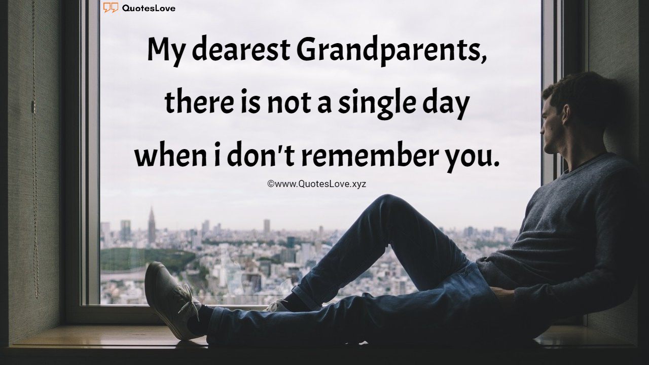 Heart Warming Missing Grandparents Quotes