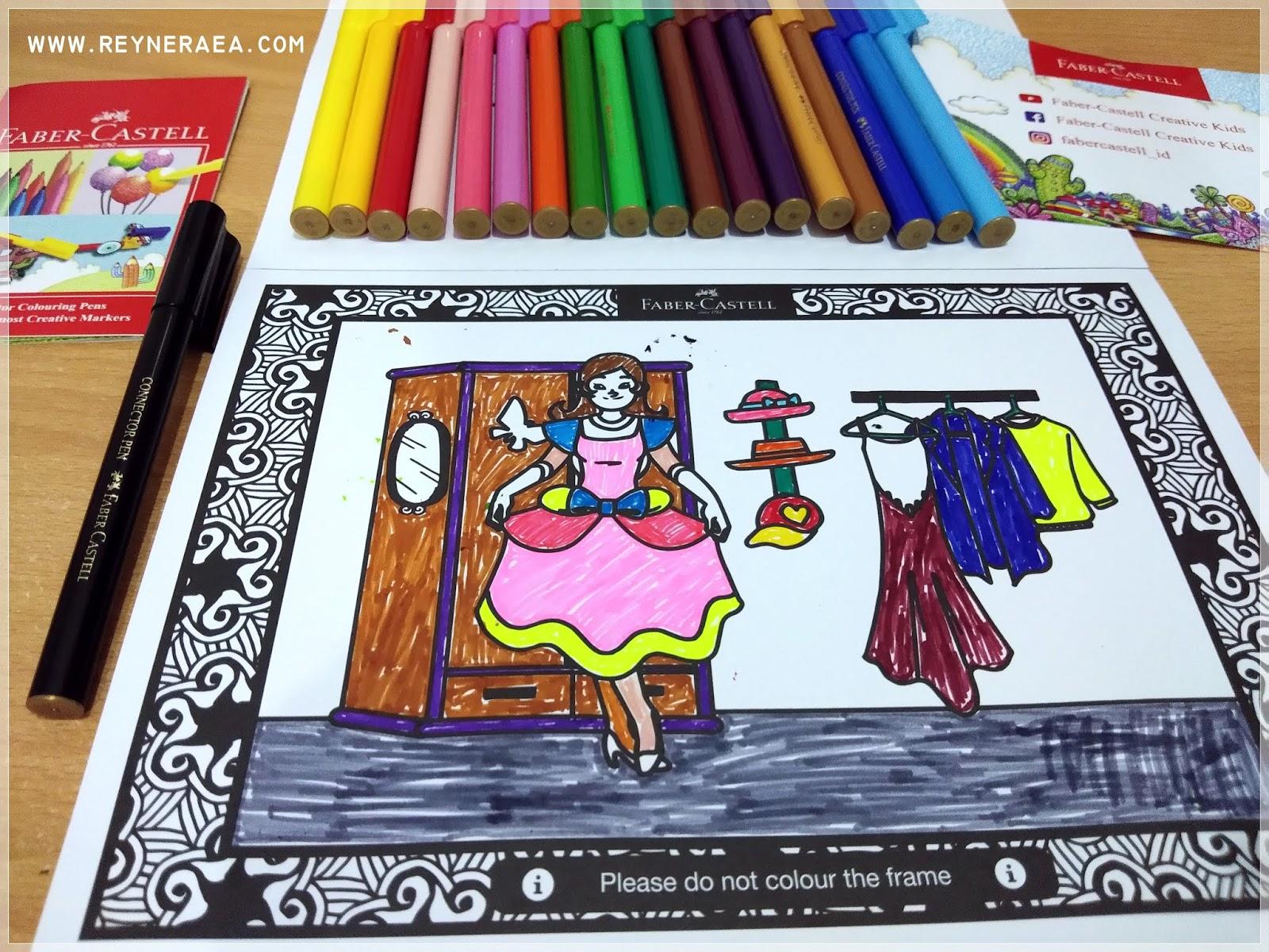 All About Woman Quality Time Bersama Anak Dengan Colour To Life Faber Castell Setelah Gambar Diwarnai Sempurna Ambil Gadget Lalu Install Aplikasi Cara