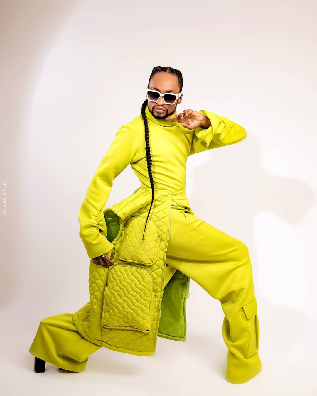 Denrele Edun stuns in beautiful birthday shoot as he turns 39