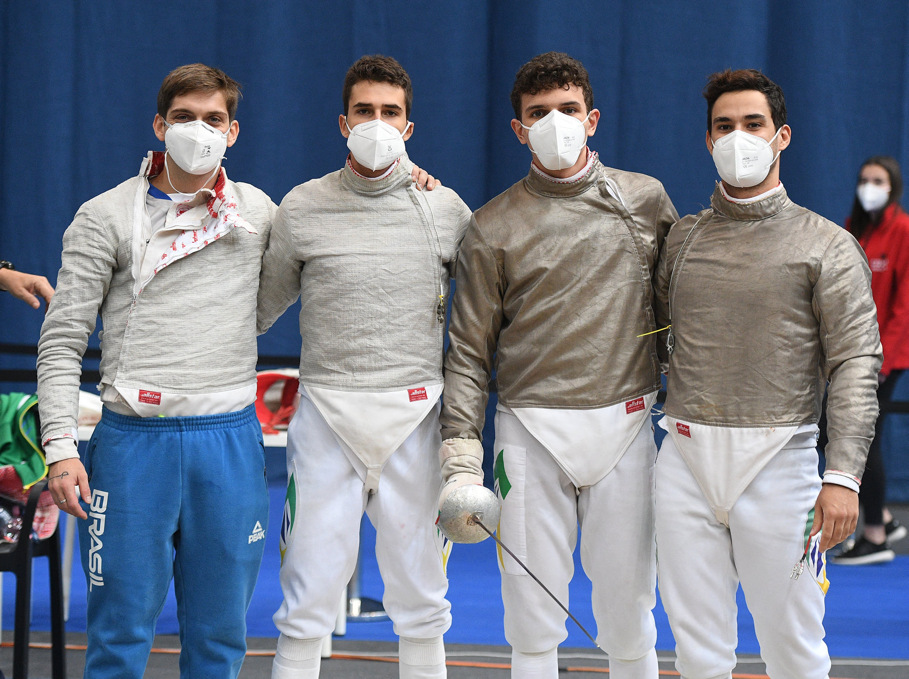 sabre team world cup copa do mundo brasil pekelman pezzi becker fencing boys garrigos
