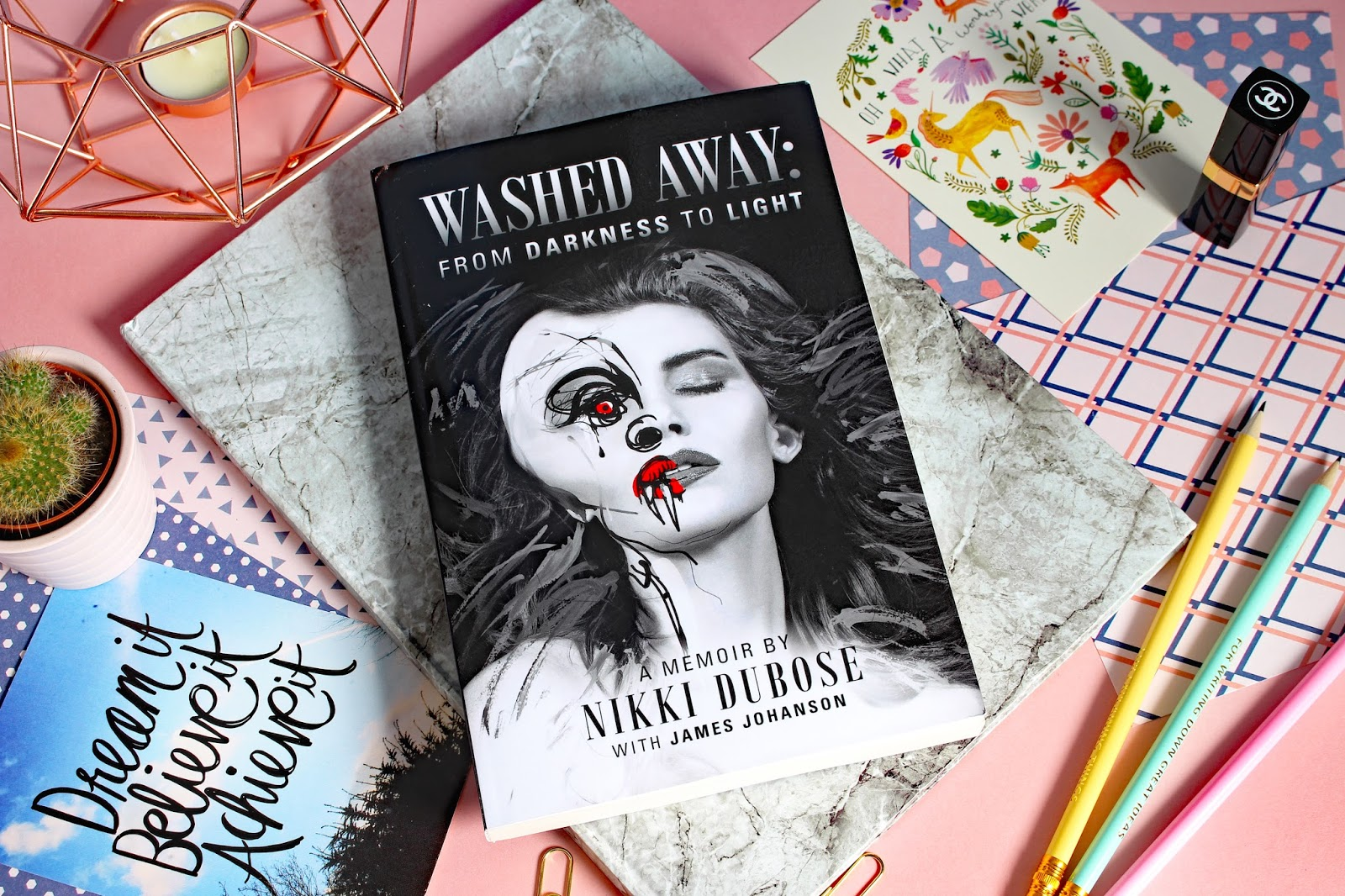 Review: Washed Away From Darkness To Light: A Memoir By Niki Dubose book mental health illness depression anxiety child abuse support help review