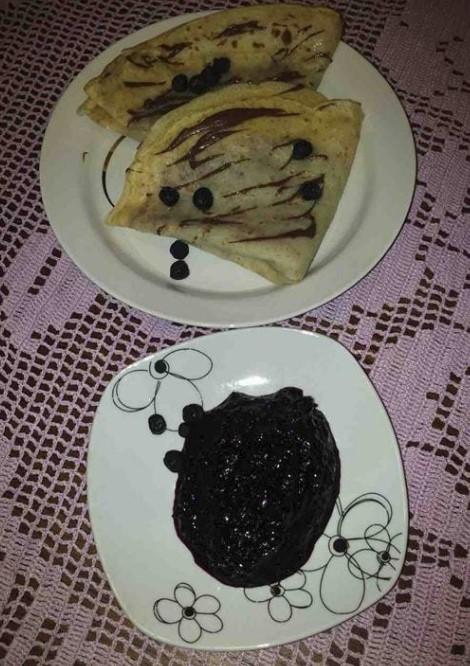 Džem od aronije i višanja :) Jam with aronia (chokeberry) and cherry