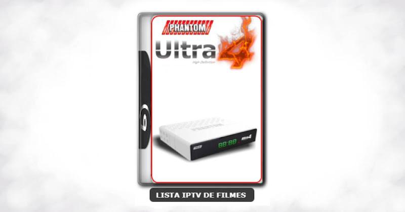 Phantom Ultra 4 Nova Atualização Beta IKS ON Canais SD