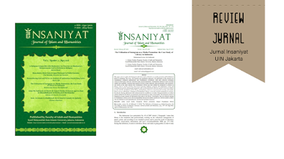 Review jurnal insaniyat