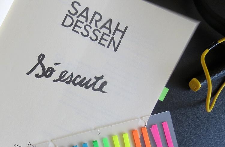 livro só escute sarah dessen