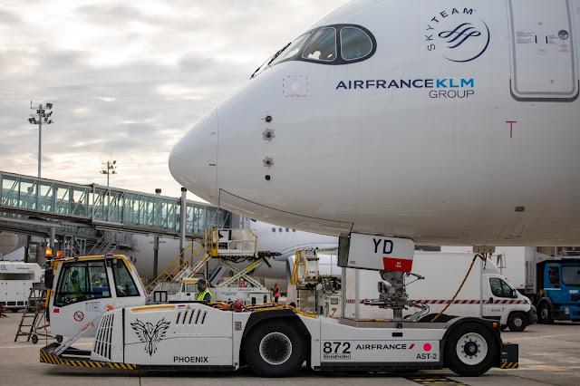 Sustentabilidade: Air France segue investindo em equipamentos e veículos elétricos para uso em pista | É MAIS QUE VOAR
