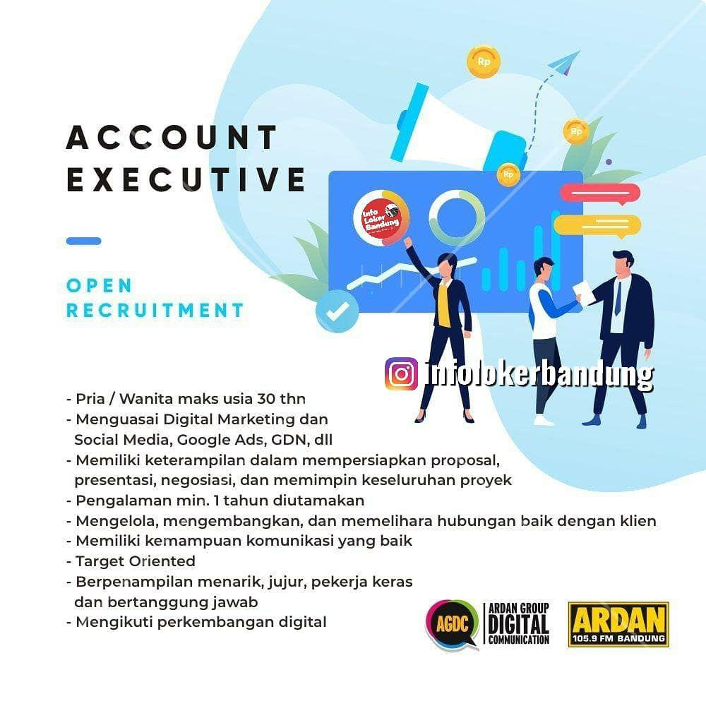 Lowongan Kerja Account Executive Ardan Group Digital Bandung September 2019