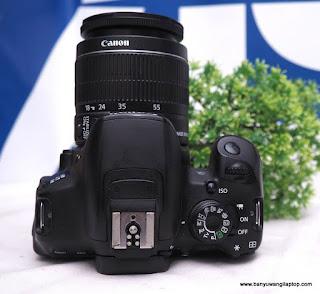 Jual Canon EOS 700d Bekas Banyuwangi
