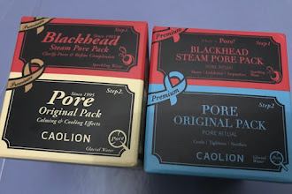 Caolion Products Review: Pore Original Pack, Steam Pore Pack, and Pore Tightening Memory Sleeping Mask