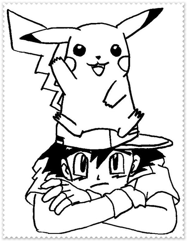 Ausmalbilder zum Ausdrucken: Pokemon Ausmalbilder  Ausmalbilder zu...