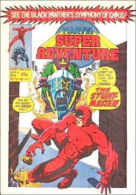 Marvel Super Adventure #19, Daredevil vs Stunt-Master