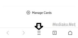 Menggunakan Incognito Browsing Di UC Browser