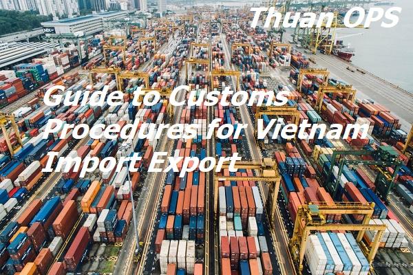 Guide to Customs Procedures for Vietnam Import Export