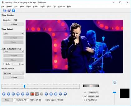 Avidemux Video Editing Software