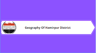 Geography Of Hamirpur District