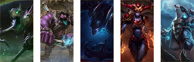 League of Legends for 2020: Choose a Champion Update 8