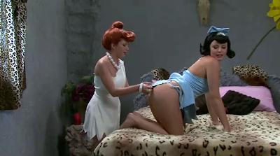 Los Picapiedra XXX versión porno (Video)