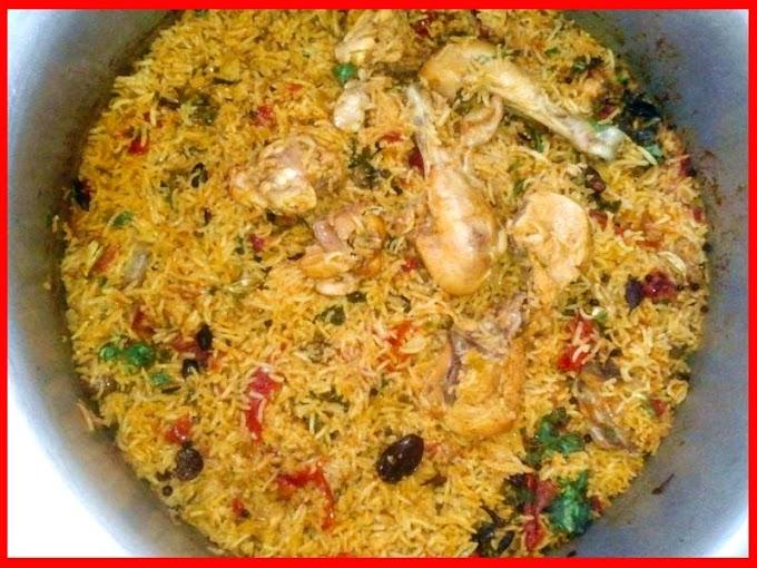 Shadion Wali Degi Biryani Recipe