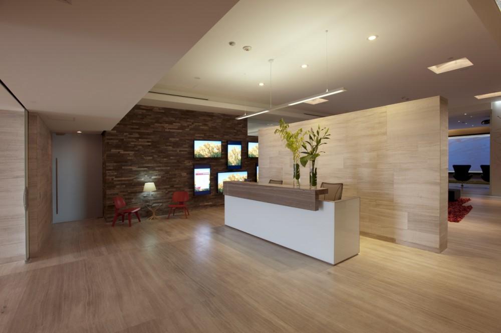 Marzua oficinas power green technologies de vieyra for Oficinas de arquitectura