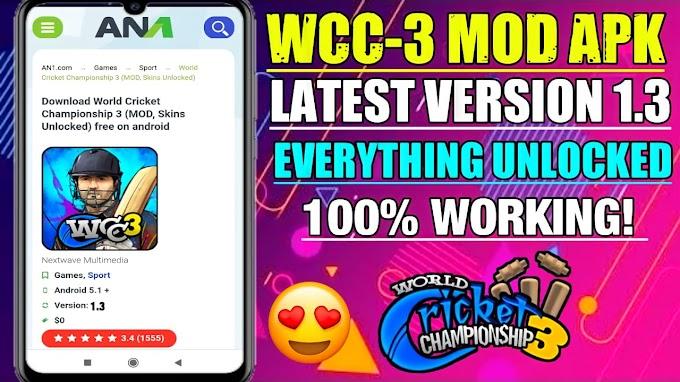 Wcc3 New Update Apk | Unlocked Everything