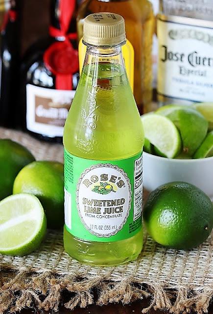 Bottle of Roses Sweetened Lime Juice Image