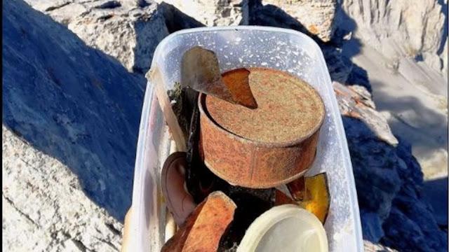 Όλυμπος: Αφήνουν σκουπίδια στην πιο ψηλή κορυφή της Ελλάδας!
