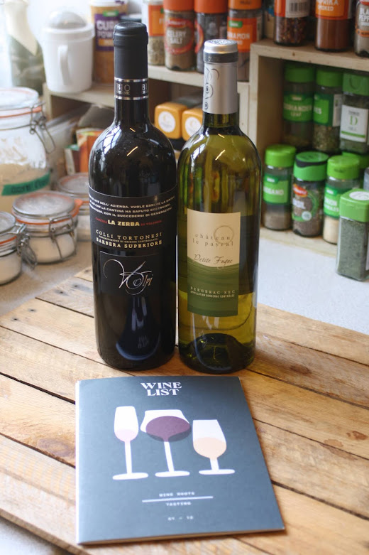 Bottles of wine and educational materials from The Wine List | Anyonita Nibbles Gluten-Free