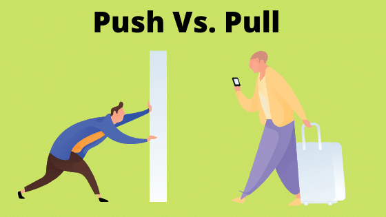 Force Push and Pull : Definition and Examples