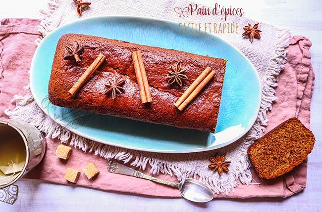 pain d'épices facile et rapide