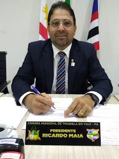 Câmara Municipal de Trizidela do Vale é 1º lugar em transparência de acordo com dados do TCE-MA.
