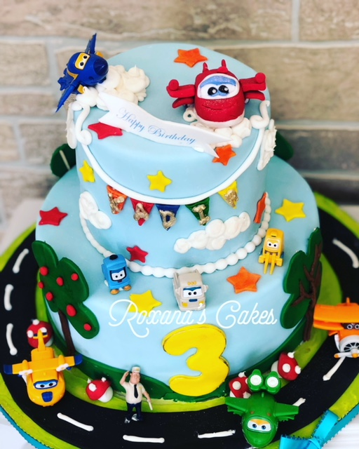 Baking With Roxanas Cakes Super Wings Birthday Cake
