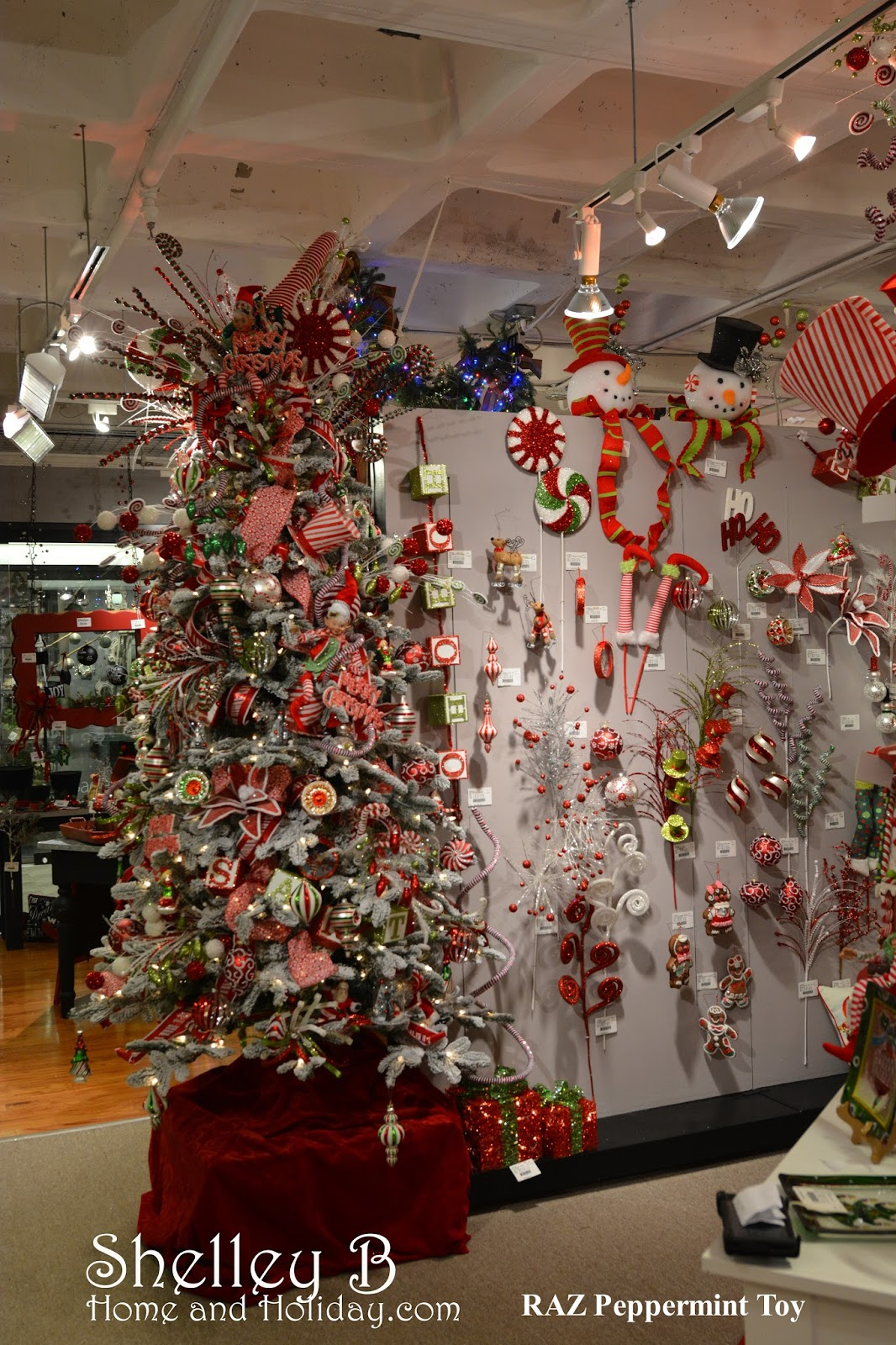 RAZ Christmas at Shelley B Home and Holiday: RAZ Peppermint Toy Christmas Collection   Shelley B ...