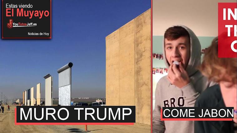 Cierra el Gobierno de Estados Unidos, Muro de Trump, Time Machine, Youtube Novedades | El Muyayo
