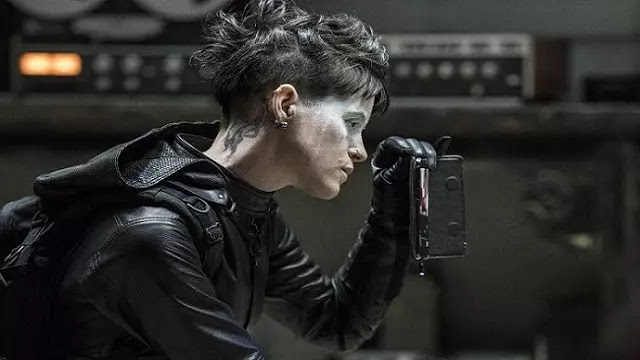 Movies Review The Girl in the Spider's Web (2018)-Kisah Gadis yang Terperangkap Jaringan Mata-mata