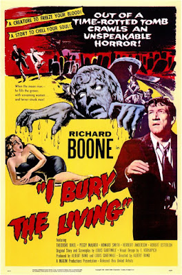 Poster - I Bury the Living, 1958