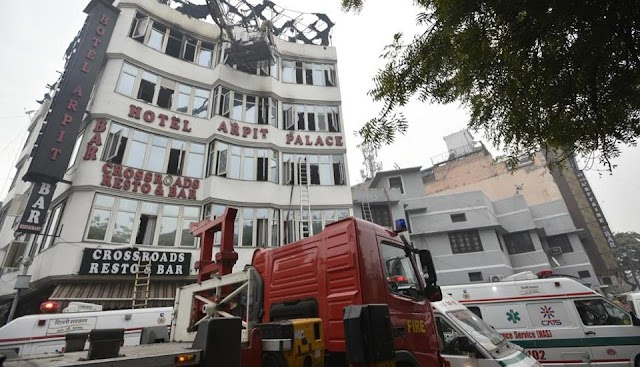 Karol Bagh Hotel Blaze Kills 17 As Rules Flouted Openly