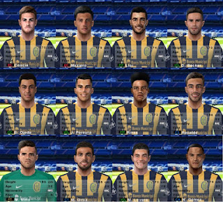 PES 6 Facepack Rosario Central 2018/2019 by Cuervo96