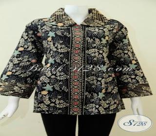 baju batik wanita atasan