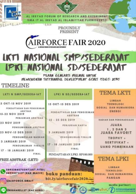 Lomba Karya Tulis Ilmiah Nasional SD-SMP/Sederajat 2019