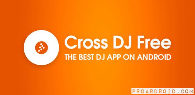 تطبيق Cross DJ Pro v3.3.7 لعمل ميكسات ومزج الموسيقي مدفوع للاندرويد logo