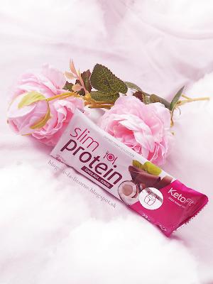 Proteínová tyčinka Slim Proteín Kokos KetoFit recenzia