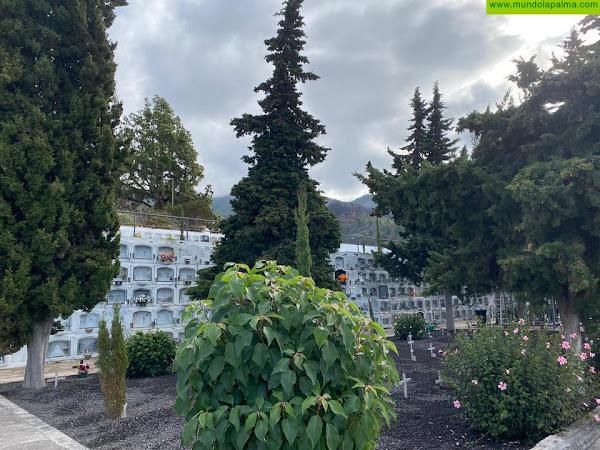 Tijarafe refuerza su servicio de cementerio con medidas de seguridad e higiene para la festividad de Todos los Santos