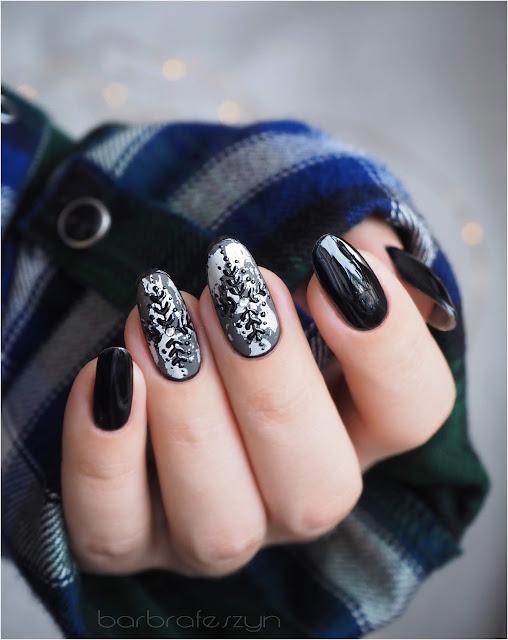 ciemna zimowa stylizacja