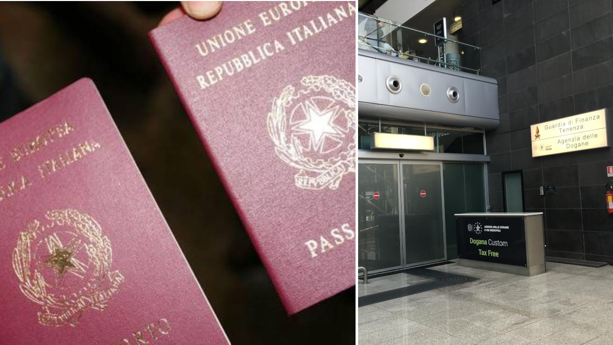 Extracomunitario passaporto falso Aeroporto Fontanarossa
